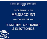 Small Business Saturday with Mr. Discount